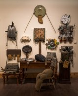 An array of metal assemblages by the late-American Hawkins Bolden feature in the collection of art that is 'untrained, unintentional, undiscovered and unclassifiable'.