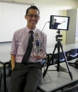 Mathematics teacher Eddie Woo has created a YouTube channel watched by thousands of viewers.