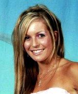 Lauren Huxley in high school, before the attack.