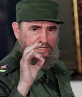 Cuban leader Fidel Castro in Havana in 1999.