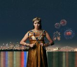 Milijana Nikolik in a promo shot for the Handa Opera On Sydney Harbour 2015 <i>Aida</i>.