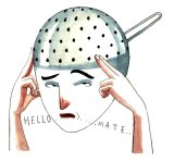 One's mind can work like a sieve.