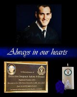 Former police officer Ashley Bryant took his own life on the NSW North Coast on December 15, 2013.