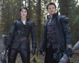 Gemma Arterton and Jeremy Renner in <i>Hansel and Gretel: Witch Hunters</i>.
