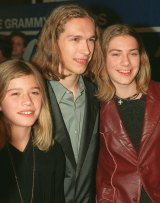 Zac, Isaac and Taylor, arrive at  the Grammy Awards in New York in 1998 at the height of fame.
