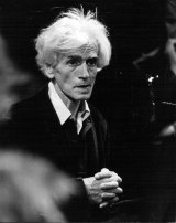 Composer and conductor Georg Tintner, in 1975.