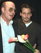 Depp had a cannon made to scatter the ashes of Hunter Thompson.