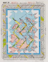Howard Arkley and Elizabeth Gower, <i>Map Book</i> 1978. Collection of Elizabeth Gower © The Estate of Howard Arkley and © Elizabeth Gower.