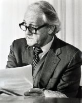 Tom Uren in 1984, when he was minister for territories and local government.