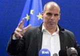 Said he'd rather chop an arm off than accept Europe's debt deal: Greek Finance Minister Yanis Varoufakis