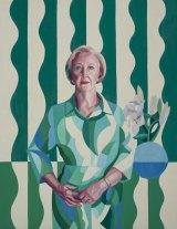 Archibald Prize 2017 finalist Yvette Coppersmith's portrait of Professor Gillian Triggs.