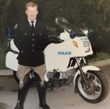 Shane Connelly started policing in the 1980s on the back of a motorbike, patrolling Canberra's streets.