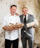 (L-R) Customs House Chef de cuisine chef John Offenhauser and operations manager George Musat.