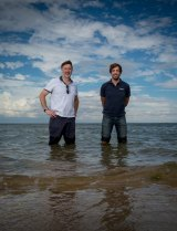 John Arnould and Paul Tixier hope their research will reduce the interaction between the fishing industry and whales.