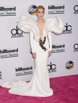 Celine Dion has always taken fashion risks.
