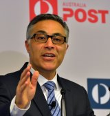 """""""We are undergoing a period of significant challenge and change"""": Ahmed Fahour, Australia Post."""