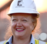 Andrew 'Twiggy' Forrest praised Gina Rinehart and Roy Hill on first shipment