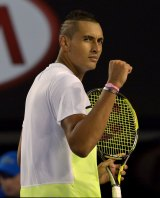 Nick Kyrgios has signed on with management company IMG.