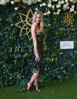 Jennifer Hawkins was unveiled as the new The Star ambassador at the Doncaster Mile Luncheon on Thursday.