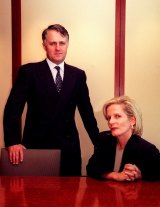 Power couple: Malcolm and Lucy Turnbull.