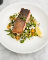 The salmon fillet at Little Henri.
