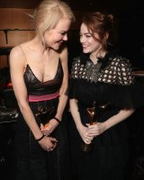 Nicole Kidman (left) and Emma Stone are prime contenders during awards season.