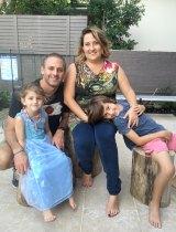 The Krawchuk family: Left to Right: Isla Krawchuk, Gavin Krawchuk, Hana Krawchuk and Elijah Krawchuk