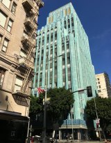 The former Eastern Columbia department store is now a luxury condominium, home to Johnny Depp and his dogs.