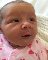 Violet May Maslin was born May 10, 2016.