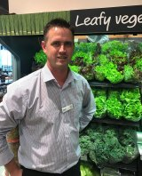 Former Masters employee Matthew Dickson, who has stepped up to a new role with Woolworths supermarkets.