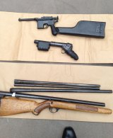 A friend said the homemade firearms made by Michael James Holt showed a high degree of skill.