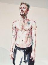 Musos on canvas: A portrait of Daniel Johns.