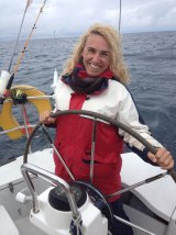 Sally Castle runs her business Shore Strategic for part of the year and spends the rest of the year sailing overseas.