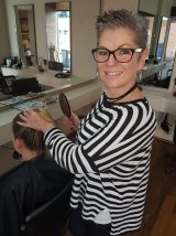 Wendy Bankes, owner of Heavenly Hairdressing in Ivanhoe, has realised she was naive about how she marketed the business.