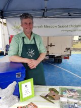 Yapunyah Meadow Grazed Poultry can be found at Carlton Farmers Market.