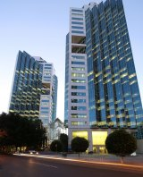 The Zenith Centre, 821 Pacific Highway, Chatswood, where Shearwater Solutions has leased a suite.