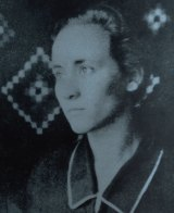 Agnes Bojaxhiu aged 18.