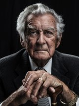 Bob Hawke, pictured last year.