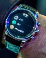 The smartwatch up close.