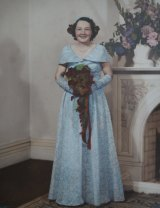 An old photo Mrs Doris Johnson.