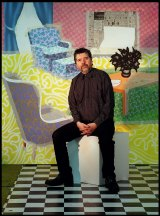 Artist Howard Arkley tackled suburbia with admirable results.