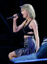 Taylor Swift performs at ANZ Stadium on Saturday.