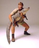 Steve Irwin, crocodile hunter.
