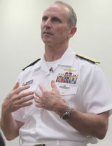 US Chief of Naval Operations Admiral Jonathan Greenert says a study is considering options for naval co-operation with Australia.
