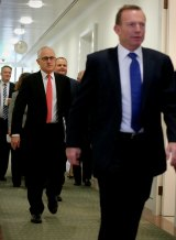 Who's in charge, MalcolmTurnbull or Tony Abbott?