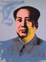"""Andy Warhol, """"Mao"""", 1972, The Andy Warhol Museum, Pittsburgh; Founding Collection, Contribution Dia Center for the Arts. Copyright 2015 The Andy Warhol Foundation for the Visual Arts, Inc./ARS, New York. Licensed by Viscopy, Sydney in """"Andy Warhol 