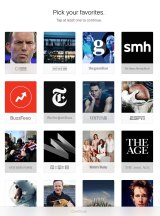 Apple's new News app filters sources according to your interests.