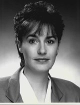Singer in 1988, as a reporter on Channel Ten's Page One program.