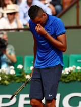"""""""Get out of my box. Get out of my box,"""" Kyrgios shouted to his brother Christos."""