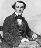 Tom Wills as a young man in 1857/58, when he was regarded as the finest cricketer in Australia. At roughly the same time he instigated the game of Australian Rules football.